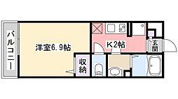 リブリ・フォーチュン津田沼[303号室]の間取り
