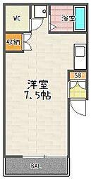 山本マンション[4-7号室]の間取り