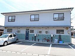 長野県飯田市鼎上山の賃貸アパートの外観