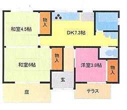 [一戸建] 埼玉県さいたま市緑区原山4丁目 の賃貸【/】の間取り