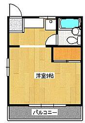 レピュート斉藤II[2階]の間取り