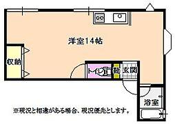 章設計マンション[3階]の間取り