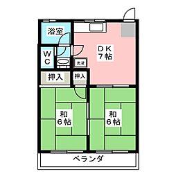 アルファ[2階]の間取り