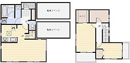 [一戸建] 群馬県高崎市下横町 の賃貸【/】の間取り
