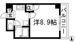 FLOS1[2階]の間取り
