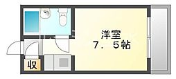 ジョイフル垂水南[5階]の間取り