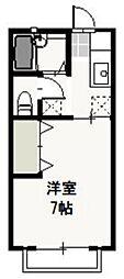 プリエール新屋敷[2階]の間取り