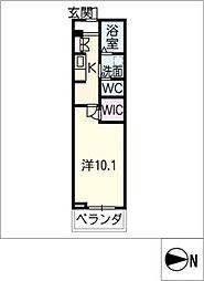 仮)ベレオ松原[4階]の間取り