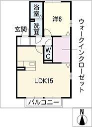 ドミール[2階]の間取り