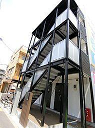 埼玉県川越市新宿町6丁目の賃貸アパートの外観