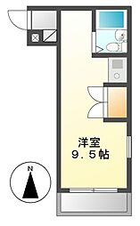 パラシオン昴[3階]の間取り