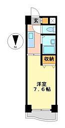 ユーステージ栄[4階]の間取り