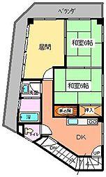 マスビル 3F[3階]の間取り