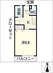 アンデルセン3号棟[1階]の間取り