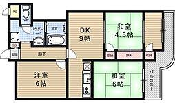 大翔第一ビル[703号室号室]の間取り