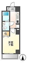 CASA八番館[3階]の間取り