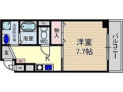 メゾン片桐[4階]の間取り