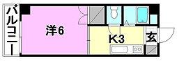 ハイム木屋町[205 号室号室]の間取り