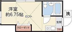 サテライトA・T(102)[102号室]の間取り
