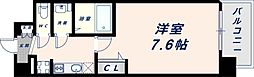Osaka Metro中央線 緑橋駅 徒歩6分の賃貸マンション 11階1Kの間取り
