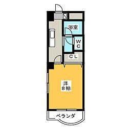 L.アーバン21[2階]の間取り