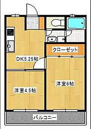 シティ[2階]の間取り