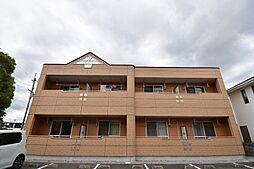 徳島県徳島市北矢三町3丁目の賃貸アパートの外観