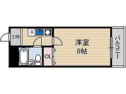 元町壱番館[2階]の間取り