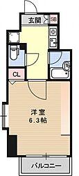 ベラジオ四条堀川[1001号室号室]の間取り