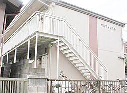 東京都練馬区土支田1丁目の賃貸アパートの外観