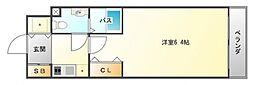ファミーユ千里山西[301号室号室]の間取り