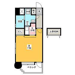 エステート・モア・赤坂[3階]の間取り