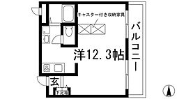 宝塚グリーンハイツ6号館[2階]の間取り