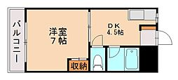 サン別府第2ビル[1階]の間取り