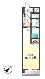 ArtizA千代田[5階]の間取り
