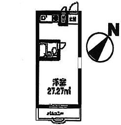 横浜ヒルストンハウス[3階]の間取り
