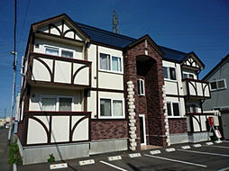 北海道札幌市東区中沼西二条1丁目の賃貸アパートの外観