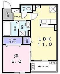 Viola C[2階]の間取り