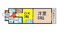 LaniKaiPark(ラニカイパーク)[802号室]の間取り