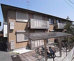京都府京都市西京区松室庄田町の賃貸アパートの外観