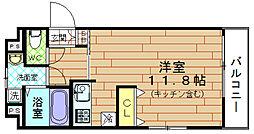 ジュネーゼ野田エコール[6階]の間取り