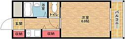 三研BLDアンビション大阪[8階]の間取り