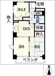 濃尾開発ビル[5階]の間取り
