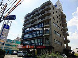 岡山県岡山市北区青江1丁目の賃貸マンションの外観
