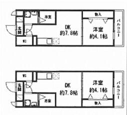 トレステーラUG(大分市横尾)[3階]の間取り