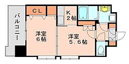レジデンス20[11階]の間取り