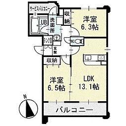 アビタシオンECO 3階[301号室]の間取り