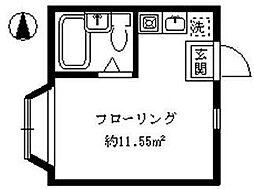 東京都板橋区志村3の賃貸アパートの間取り