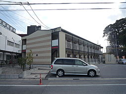 愛知県日進市浅田町東田面の賃貸アパートの外観