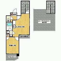 プラネシア星の子京都御所[7階]の間取り